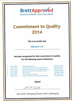 Continued Commitment to Quality 2014